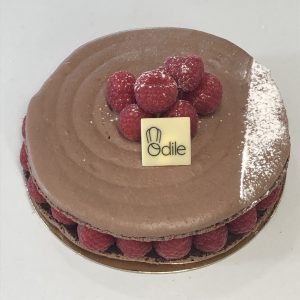 Macaron Framboise/Chocolat